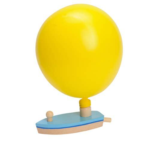 bootje op zonne energie ballon boot