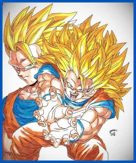 imagenes de goku dragon ball z kai dibujos de dragon ball z kai con color archivos dibujos