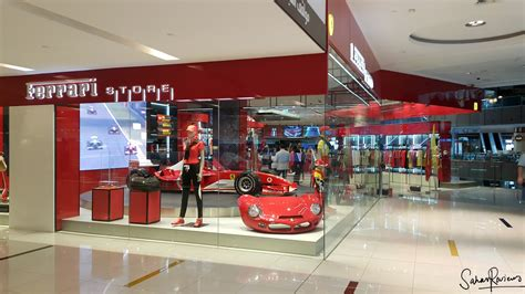 Ferrari Gift Shop by Sahar Reviews Ferrari Store Opening At Dubai Mall