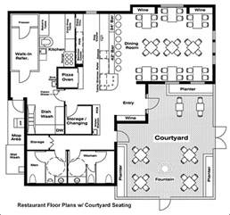 Small Restaurant Floor Plan by Restaurant Floor Plans Drafting Software Cad Pro