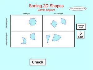 sorting 2d shapes carroll diagram apps 148apps