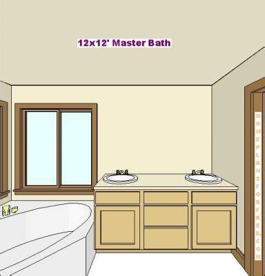 12 x 12 bathroom designs free bathroom plan design ideas master baths 12x12