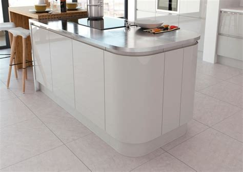 Wickes Kitchen Designer light grey gloss kitchen launched by value range your