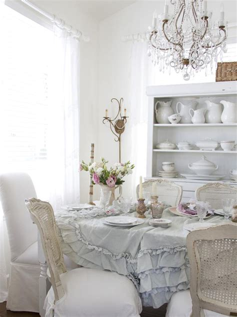 Shabby Chic Dining Room Design Ideas Interiorholic Com Chic Dining Room Ideas