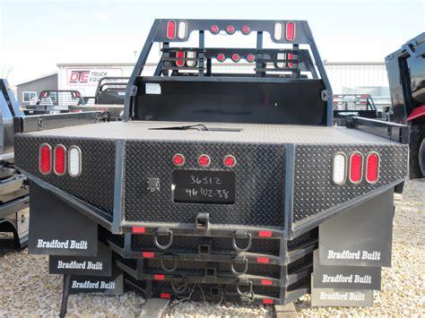 bradford truck bradford built quot steel quot flatbeds dickinson truck equipment