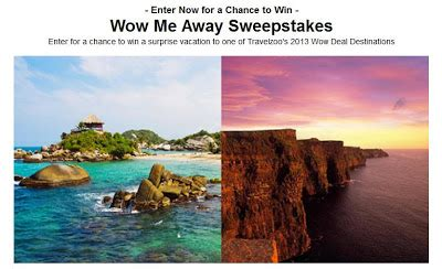 Travelzoo Sweepstakes - travelzoo wow me away sweepstakes michael w travels