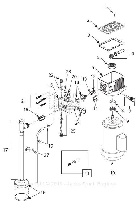 sprayer parts diagram cbell hausfeld ps270d parts diagram for paint sprayer parts