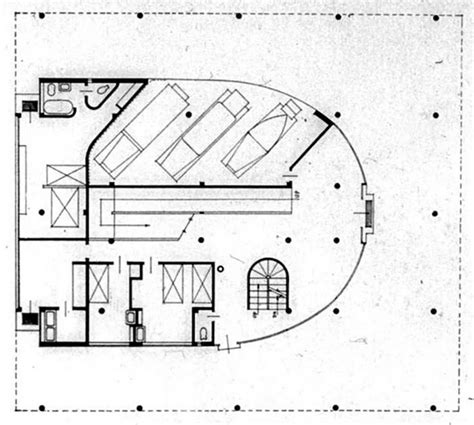villa savoye floor plan dwg the 25 best ideas about villa savoye plan on pinterest