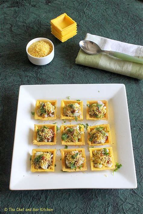 fillings for canapes the chef and kitchen canape sev puri fillings for