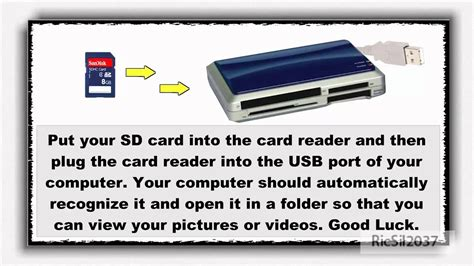 make image of sd card how to make your computer detect your sd card