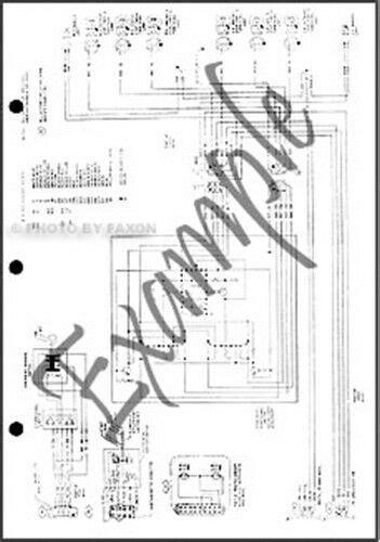 ford torino ranchero wiring diagram electrical