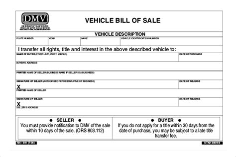 Oregon Bill Of Sale For A Car Archives Satpuralawcollege Org Bill Of Sale Template Oregon