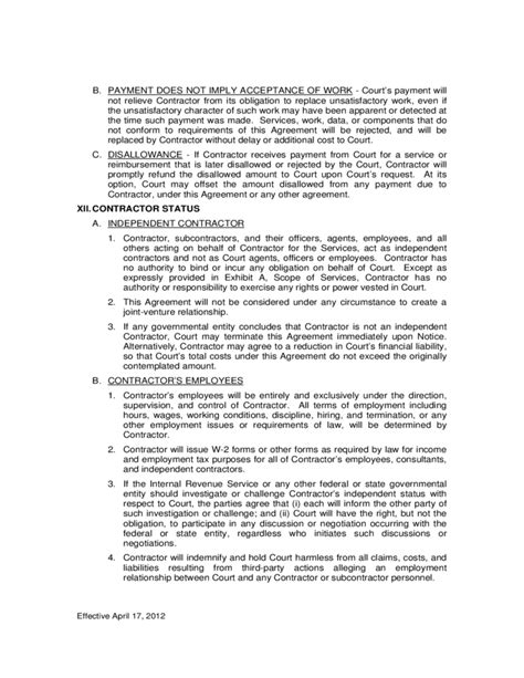contract terms and conditions template fulfillment services agreement fulfillment contract