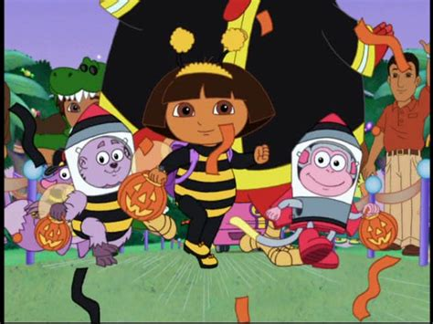 dora the explorer halloween parade dvd label images frompo