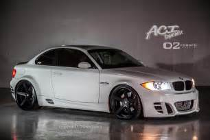 wide bmw 135i on 20 quot d2forged cv2 wheels autoevolution