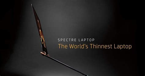 Intel Metro Worlds Thinnest Laptop by Hp Spectre 13 World S Thinnest Laptop Launched In India
