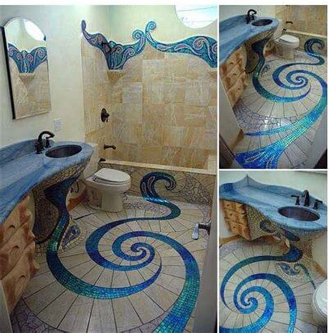 diy bathroom floor ideas 15 fascinating diy floor ideas for indoors and outdoors