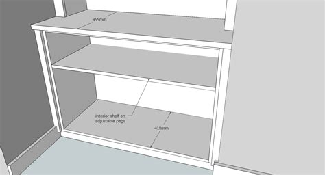 Building A Built In Bookcase Design Drawings In 3d By Peter Henderson Furniture