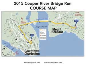 run map cooper river bridge run 2014 2015 date registration route map