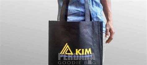 Kain Spunbond Jakarta jual goodie bag kain spunbond tas kanvas tas blacu