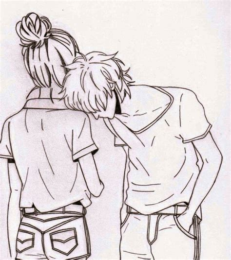 drawing ideas cute couple drawing ideas tumblr great drawing