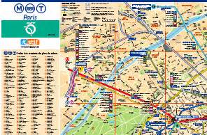paris metro maps paris by train