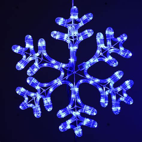 outdoor snowflakes creating the right atmosphere with amazing snowflake