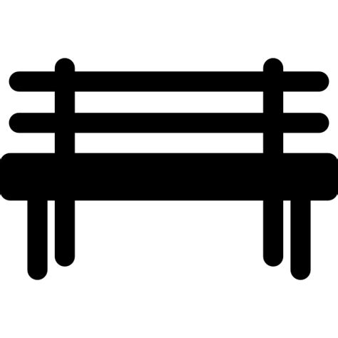park bench icon park bench free buildings icons