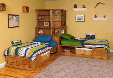 Bed Back Design by Twin Beds With Corner Unit Idea Tedx Designs The Best