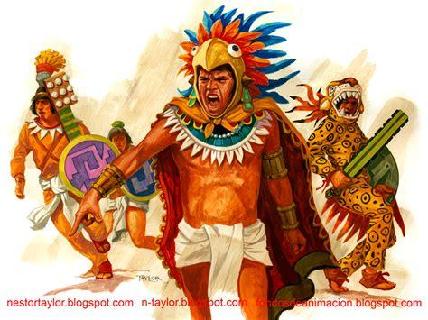 imagenes de herramientas aztecas el blog del ilustrador guerreros aztecas