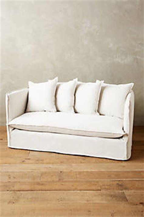 linen sofa durability belgian linen carlier slipcover settee anthropologie com
