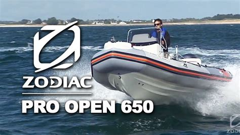 sea pro boats official website zodiac pro open 650 rigid inflatable boats rib youtube