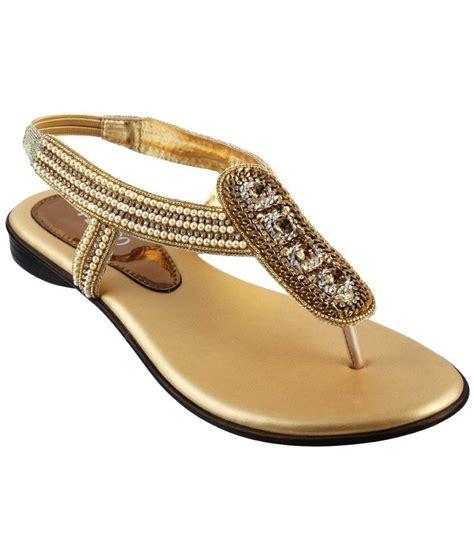 Sandal Wanita Fladeo Gold Kotak metro gold sandals price in india buy metro gold sandals at snapdeal