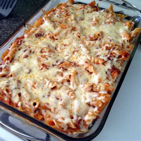 italian dinner recipes dinner cheesy mostaccioli recipe italian dinners pasta