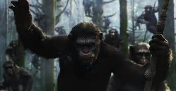 of the planet of the apes image of caesar played by