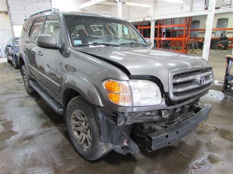 2004 toyota sequoia parts parting out 2004 toyota sequoia stock 150221 tom s