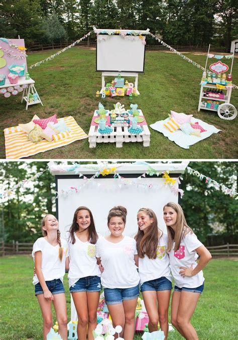 backyard activities for tweens best 25 outdoor movie birthday ideas on pinterest