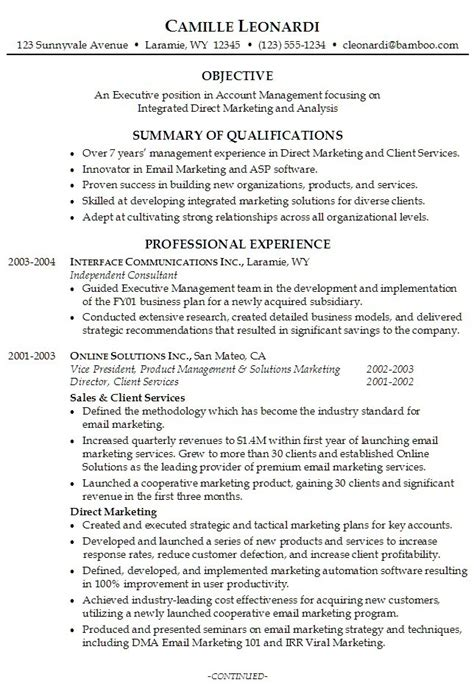 personal resume template best template collection