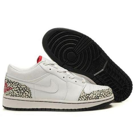 jordans sneaker air 1 burst pattern low white air shoes