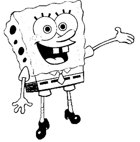 spongebob squarepants coloring pages cartoon coloring pages