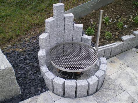 feuerstellen - Granit Feuerstelle