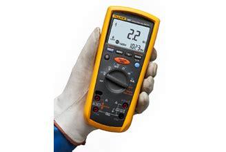 Multitester Fluke 1587 fluke insulation testers insulation resistance testing
