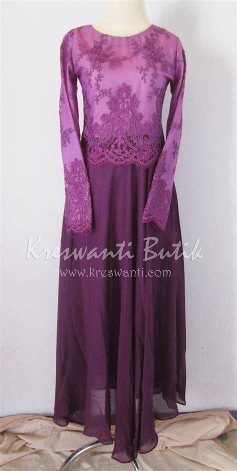 Gamis Dress Baju Muslimah Violet Ummina baju gamis violet gamis murni