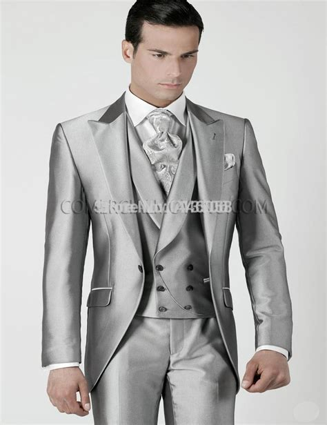 aliexpress buy mens wedding suits 2016 silver prom