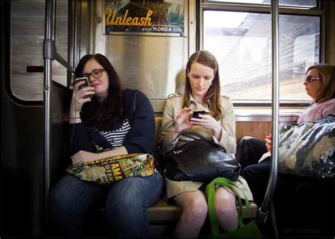 For All Phone Bahan Softclear 1 study talking to other commuters on trains is not a drag