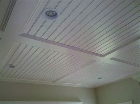 Outdoor Beadboard Ceiling Panels by Semi Coffered Beadboard Ceiling Diy Remodeled Livingroom