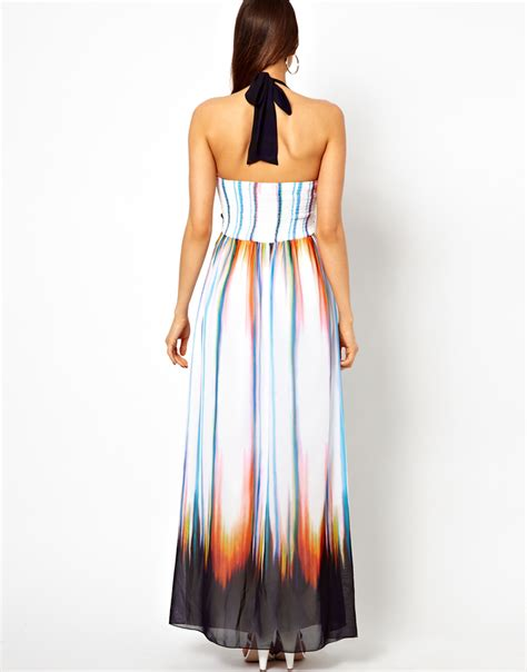Warehouse Ombre Print Dress by Lyst Ombre Print Maxi Dress