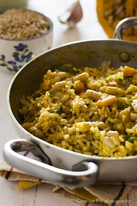 ricette con zucca mantovana riso integrale con zucca mantovana fagioli cannellini e