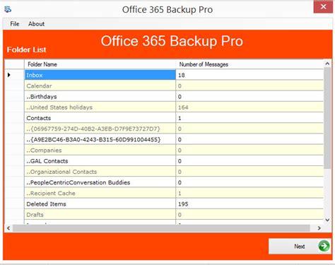 Office 365 Outlook Backup Office 365 Backup Tool Pro Office 365 Backup