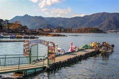 swan boats kawaguchi lake kawaguchi under the spell of mt fuji japan the